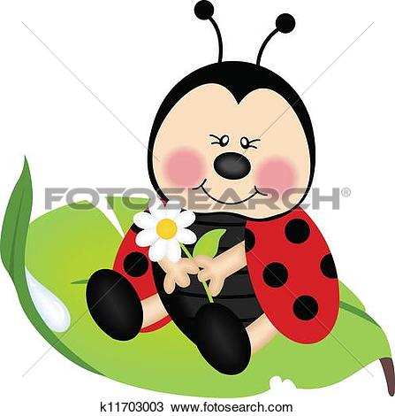 Ladybug Clip Art Vector Graphics. 8,698 ladybug EPS clipart vector.