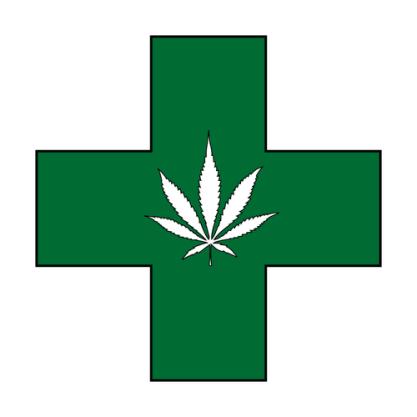 Medical Marijuana Clipart.