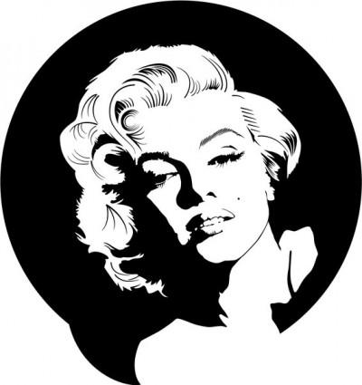 Marilyn Monroe Clip Art.