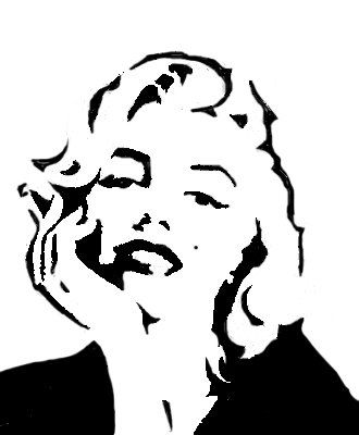 1000+ ideas about Marilyn Monroe Stencil on Pinterest.