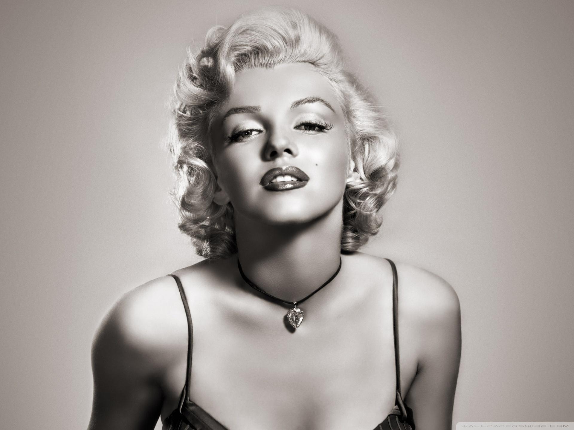 Marilyn Monroe White Dress In Color.