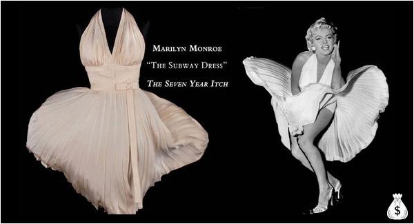 Marilyn Monroe Clipart White Dress.