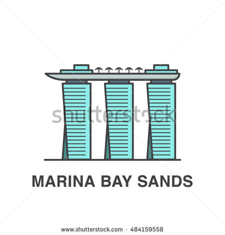 Marina Bay Sands Singapore Stock Vectors, Images & Vector Art.
