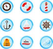 Marina Stock Illustrations.