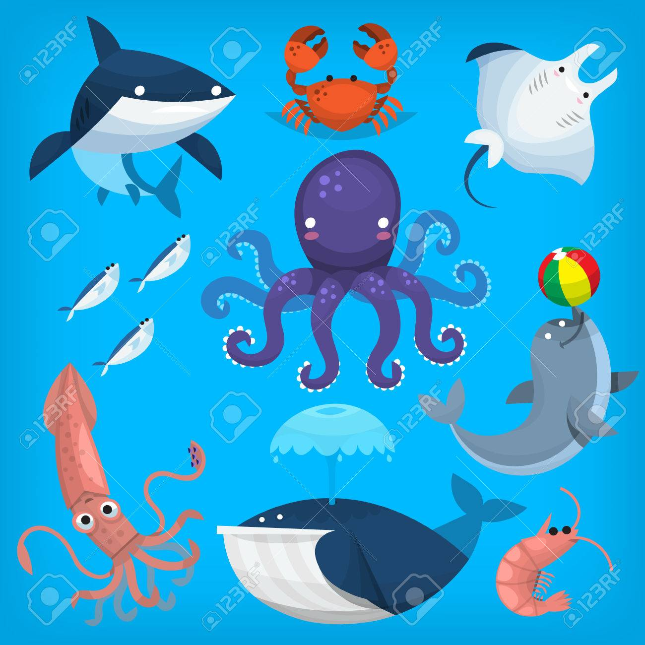 Sea Life Clipart marine biology 1.