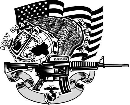Marine Corps Clipart 11.