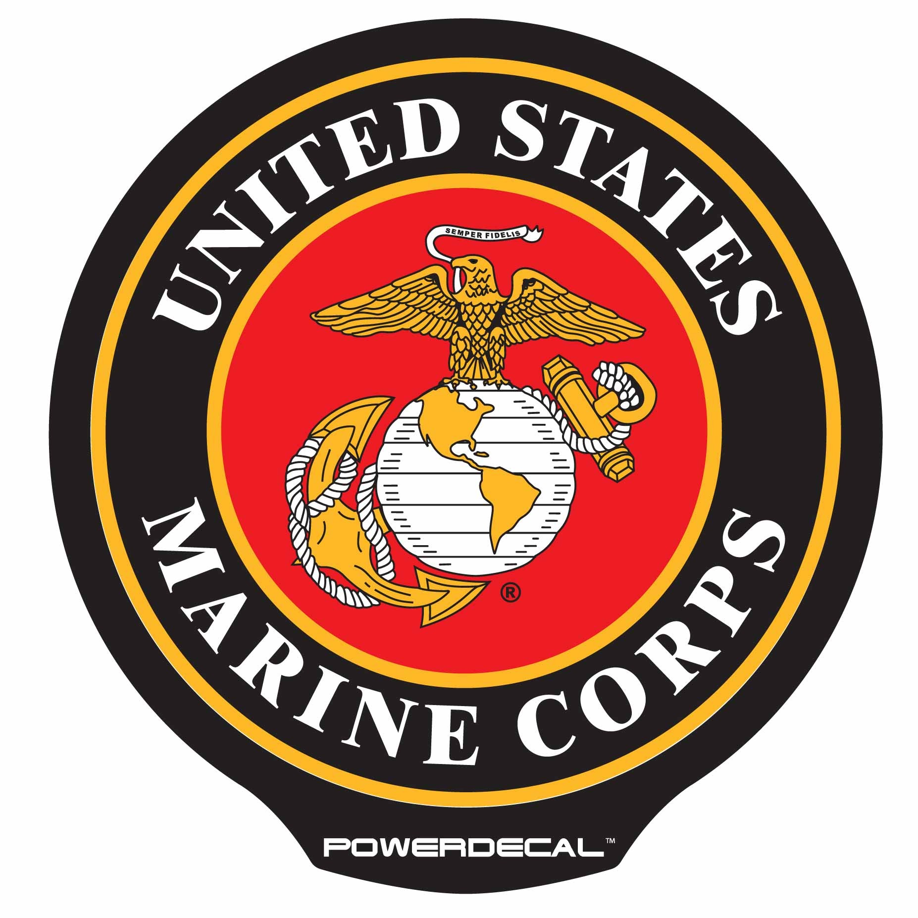 Funny Marine Corps Clipart.