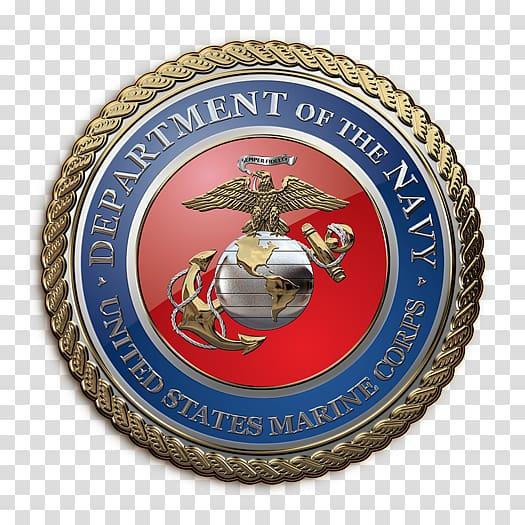 United States Marine Corps Eagle, Globe, and Anchor Emblem.