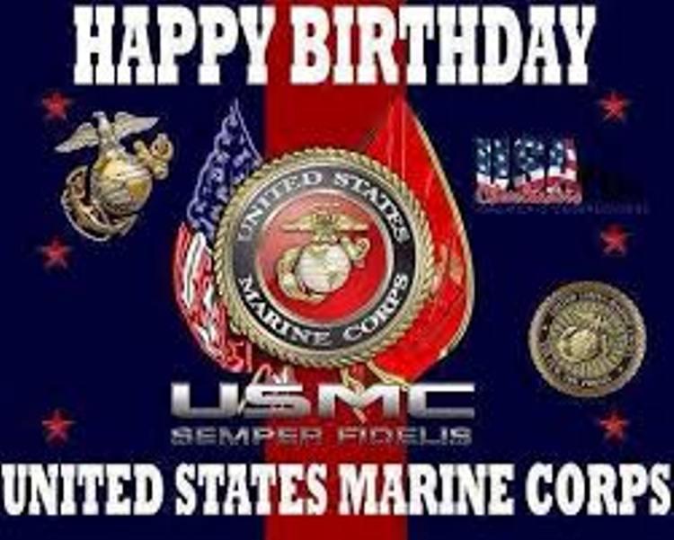 49 Marine Corps Birthday Wishes & Greetings Images.