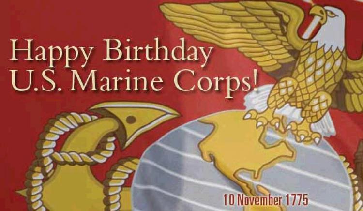 Happy birthday marine clipart.
