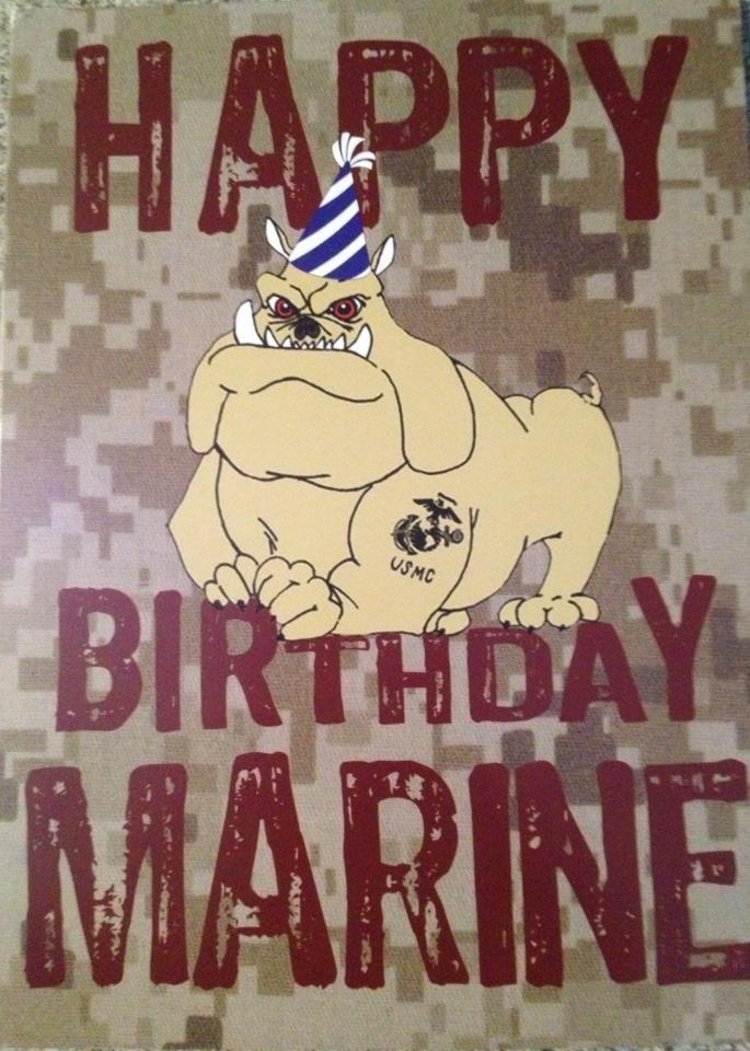 Happy Birthday Marine..