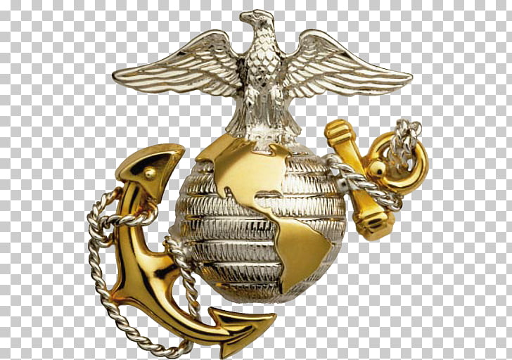 Eagle, Globe, and Anchor United States Marine Corps.