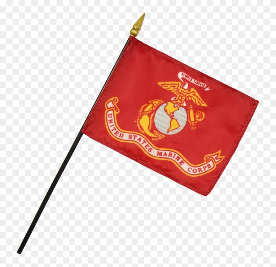 Mitchell Proffitt Us Marine Corps Desk Flag Clipart.