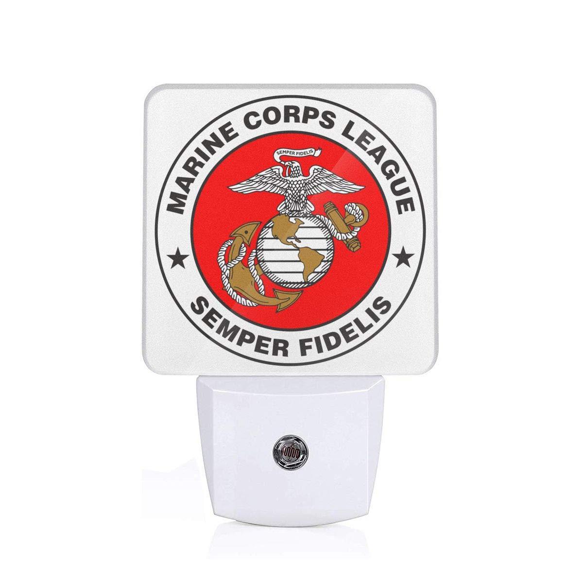 Amazon.com: Marine Corps League Logo Night Light with Auto.