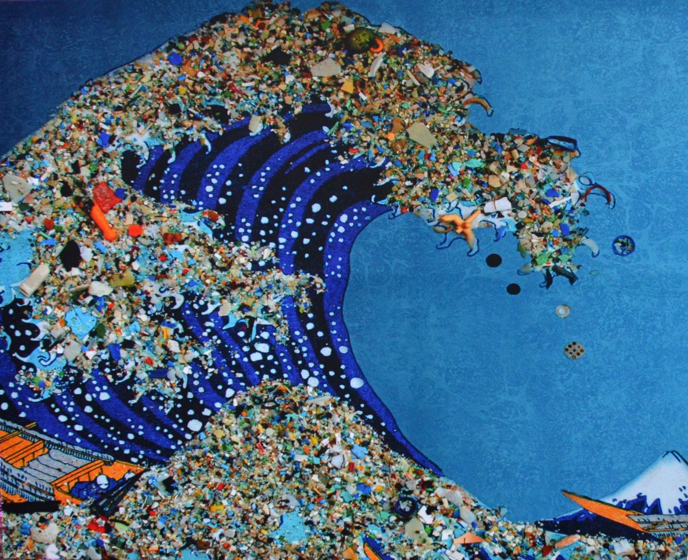 Art Made From Marine Debris This Week In Morehead City.