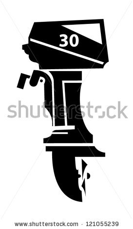 Boat Engine Stock Images, Royalty.