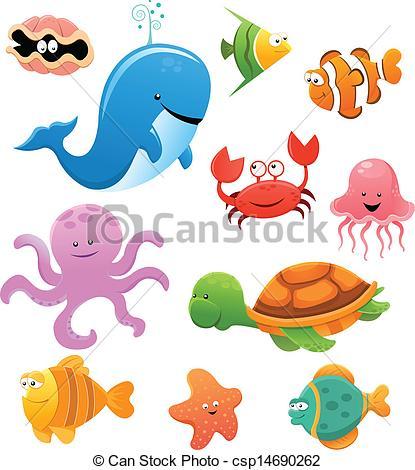 Sea mammals Clip Art Vector Graphics. 5,060 Sea mammals EPS.