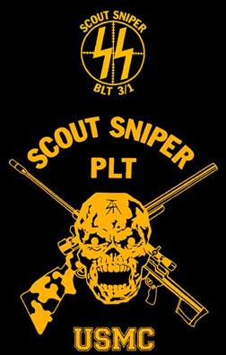 Marine scout sniper Logos.