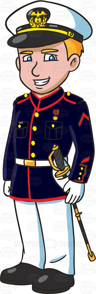 Showing post & media for Cartoon marine soldier clip art.