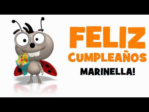 FELIZ CUMPLEAÑOS MARINELLA!.