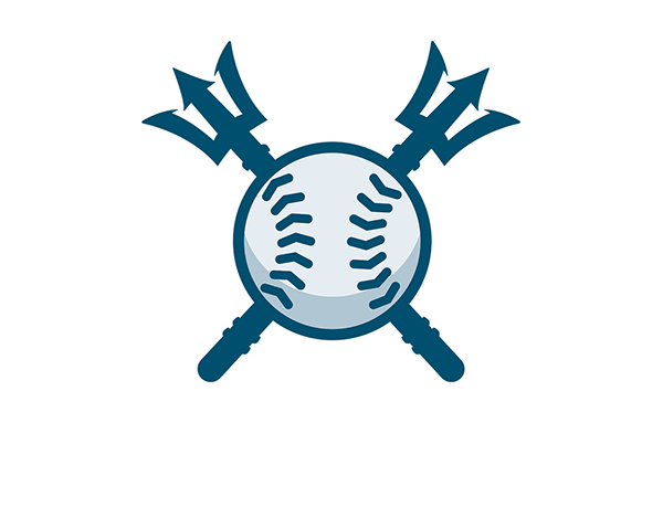 Seattle Mariners MLB Logo Baseball.
