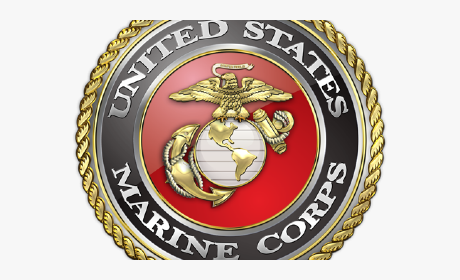 Marine Clipart Badge.