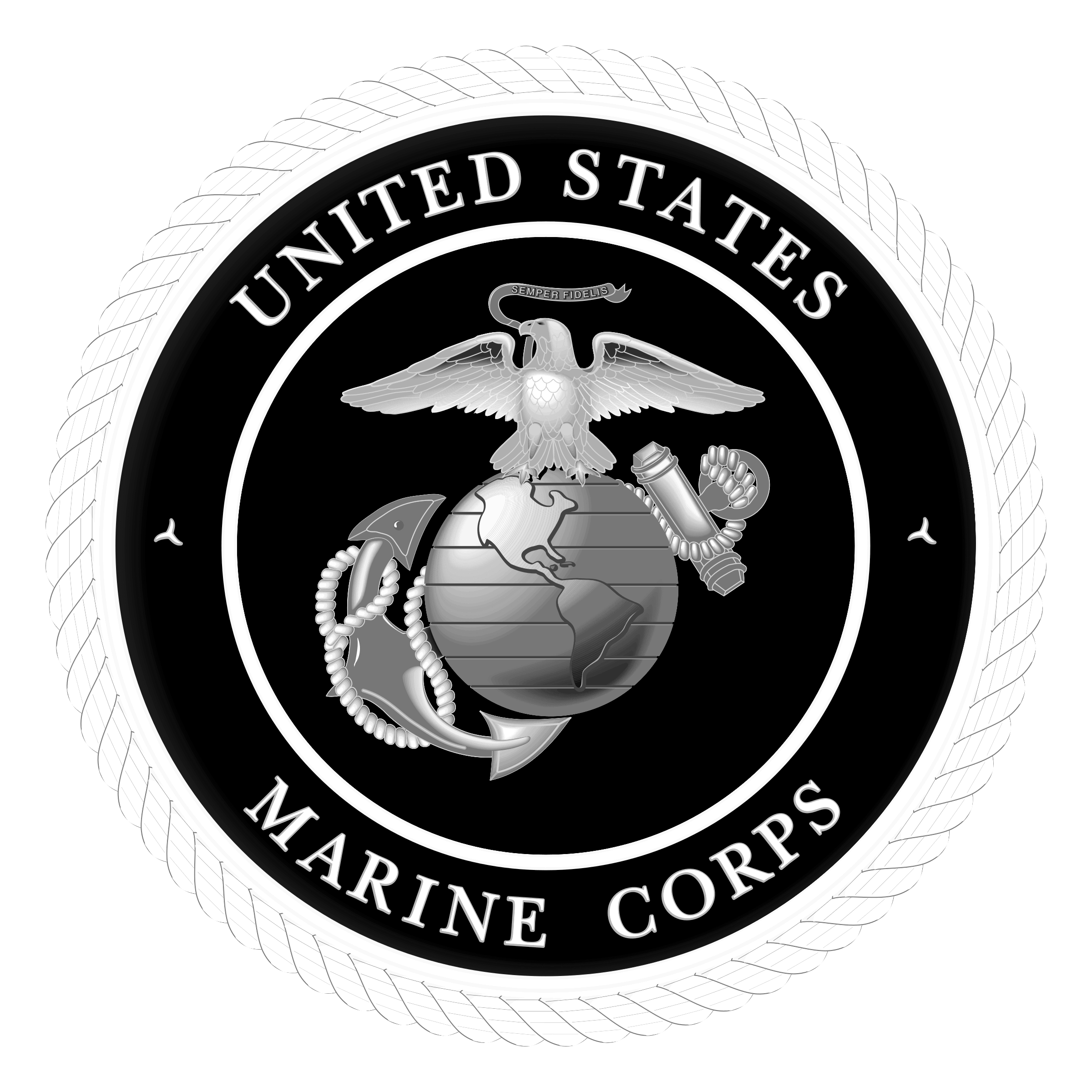 USMC Logo PNG Transparent & SVG Vector.