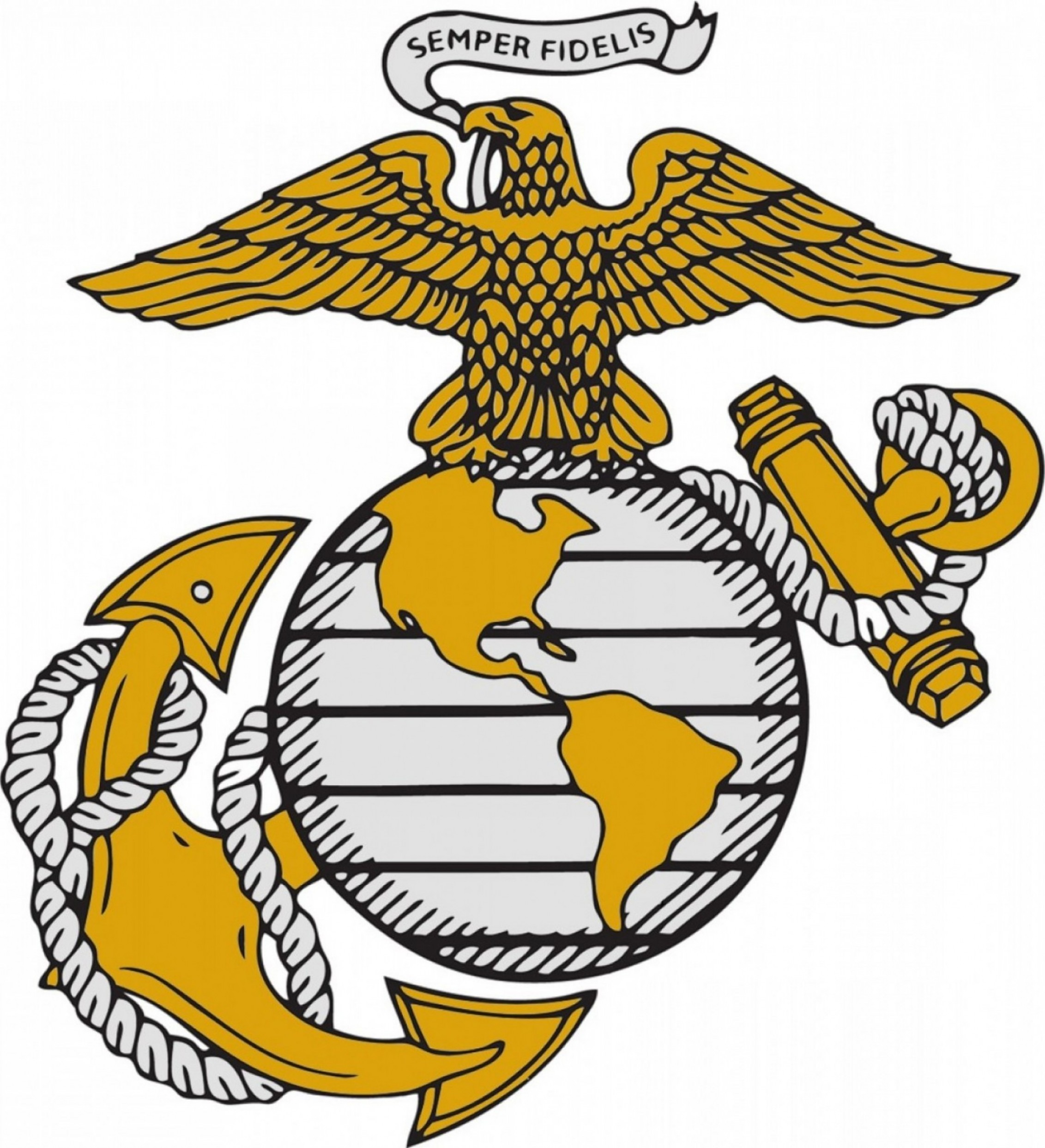 Extremely Marine Corps Logo Vector High Resolution Army Navy.