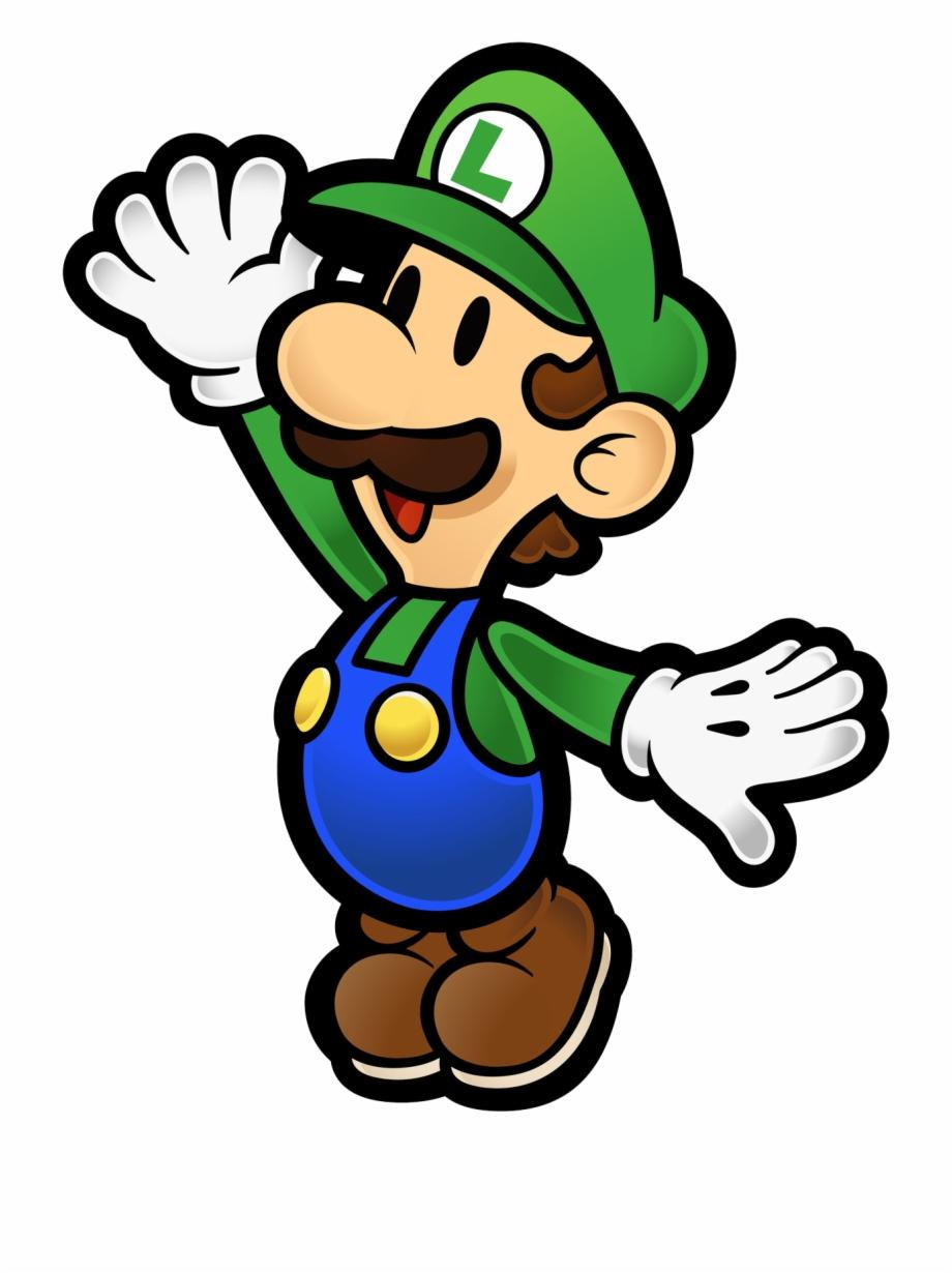 Luigi Clipart Star.