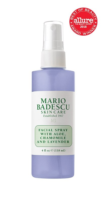 Facial Spray with Aloe, Chamomile and Lavender.