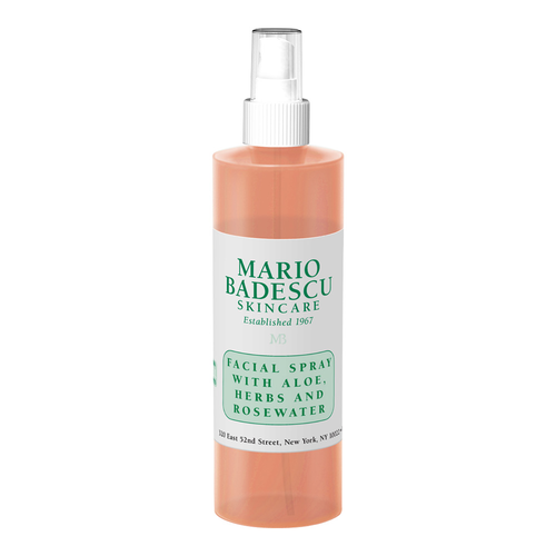 Facial Spray With Aloe, Herbs and Rosewater.