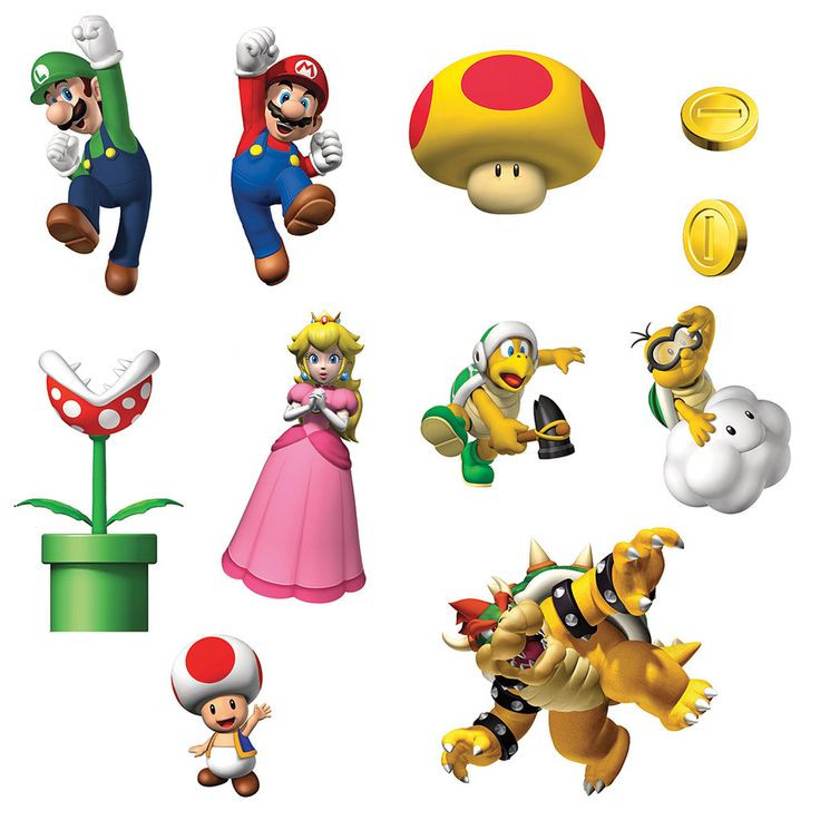 Mario Brothers Clipart at GetDrawings.com.