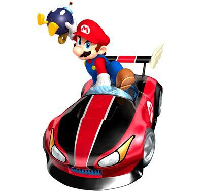 Free Mario Kart Wii Clip Art to print up for invitations and.