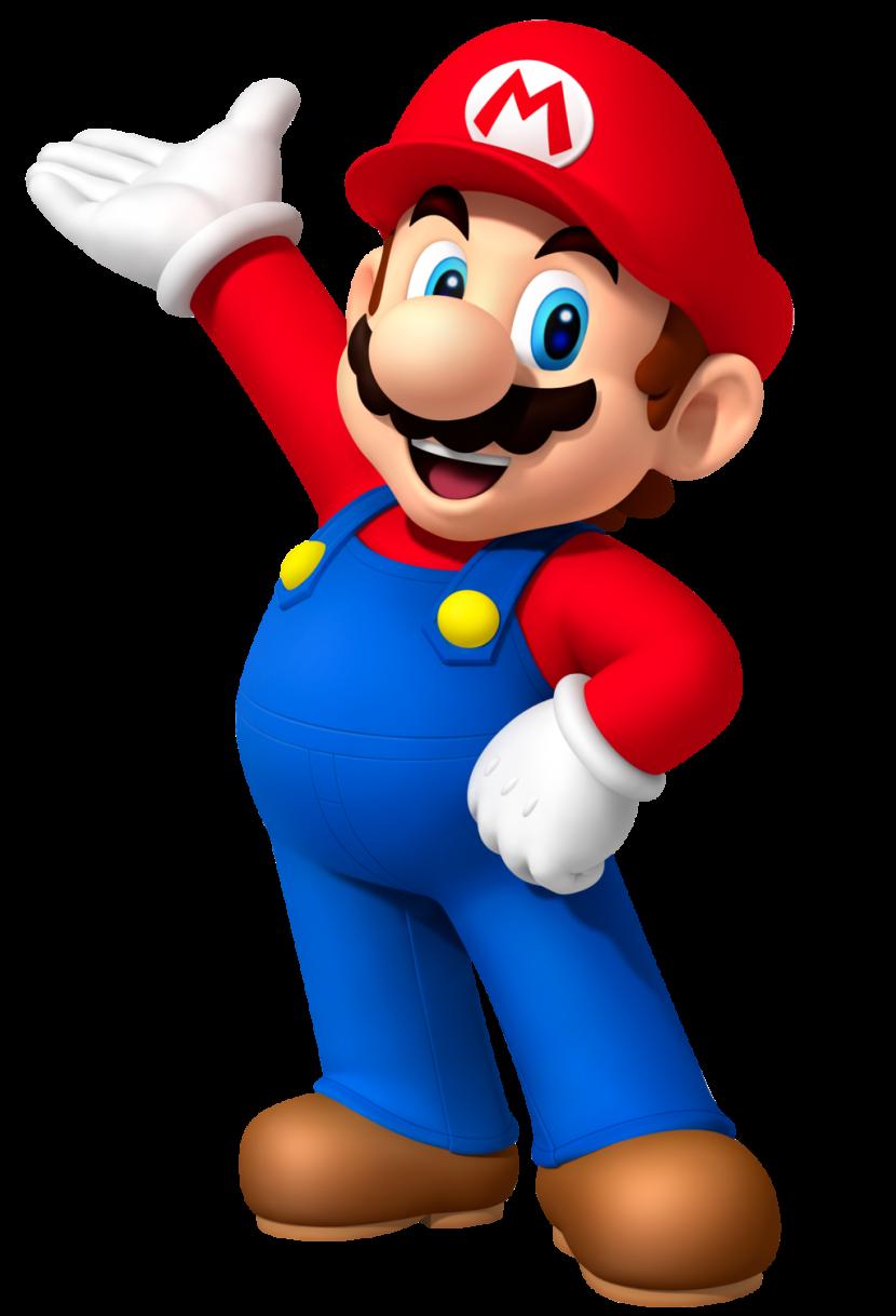 Mario clipart.