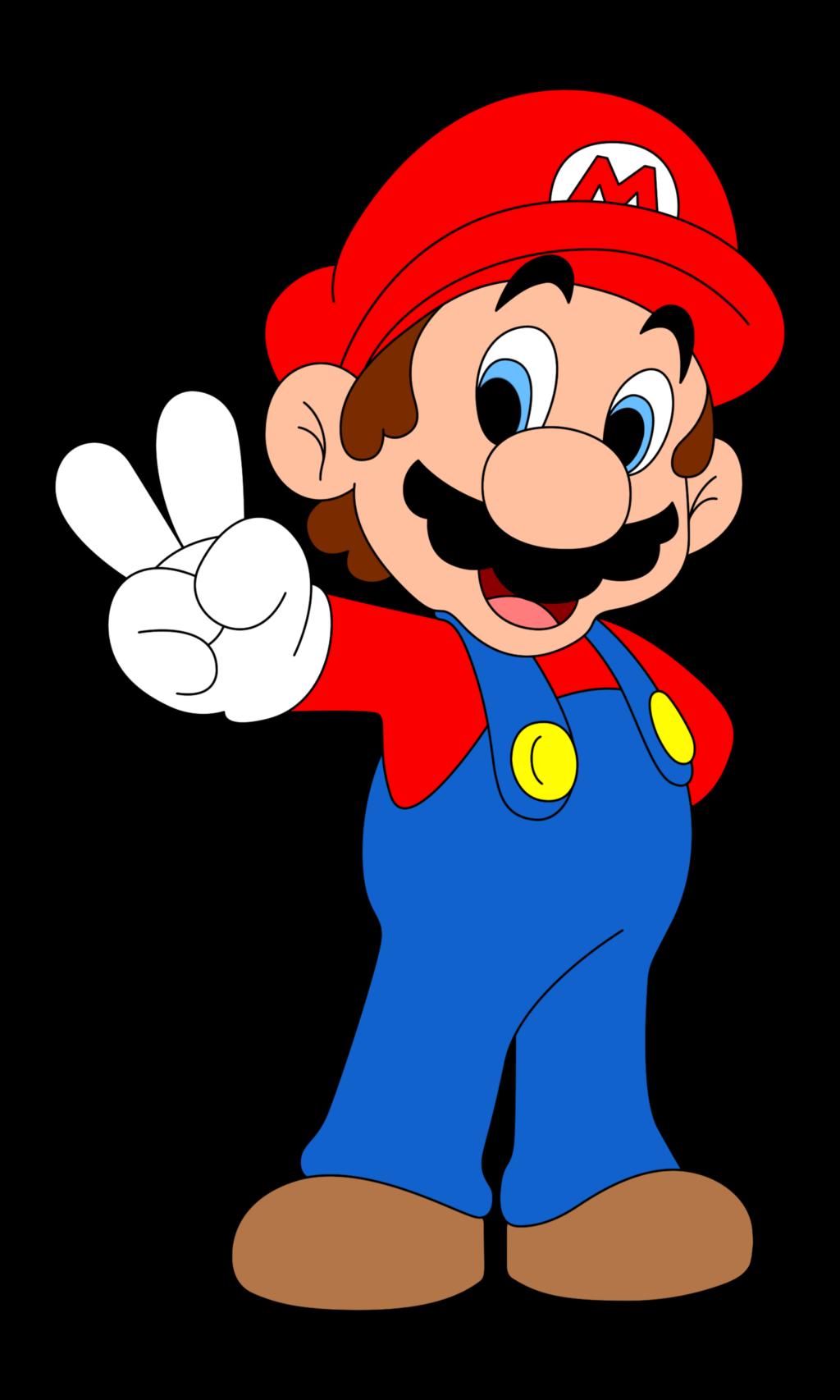 Mario clip art.