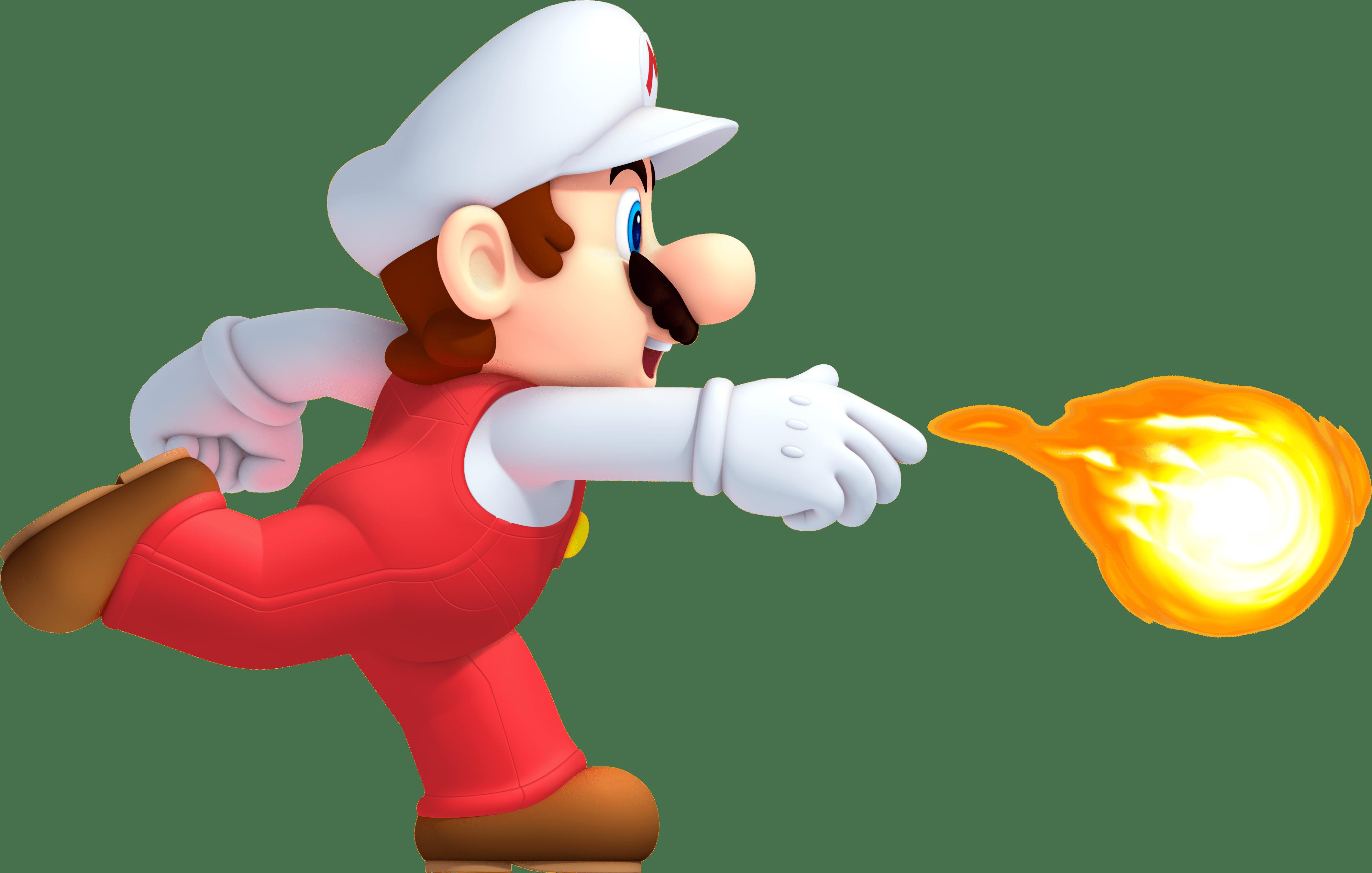 Mario Fireball transparent PNG.