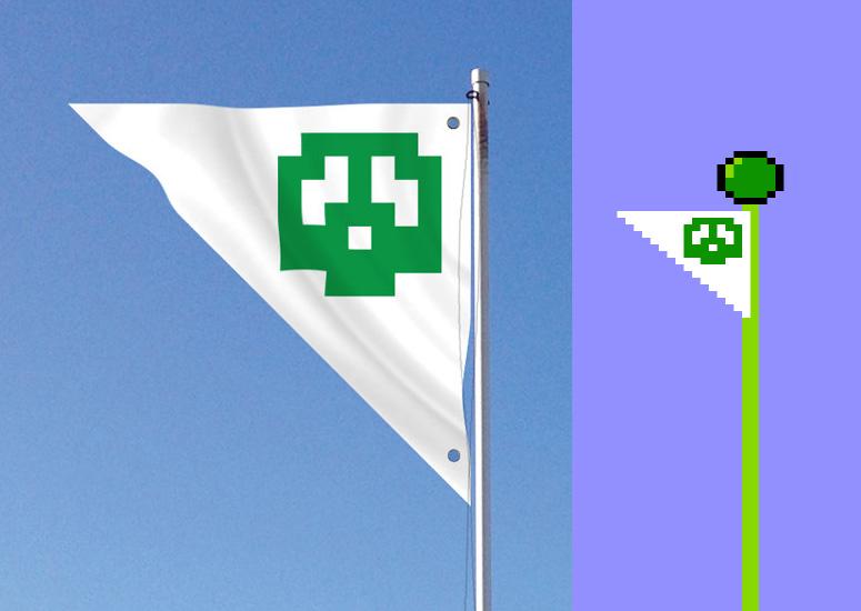 Super Mario Bros. Flag.