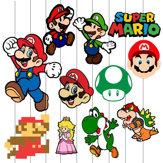 Mario Bros Clipart at GetDrawings.com.