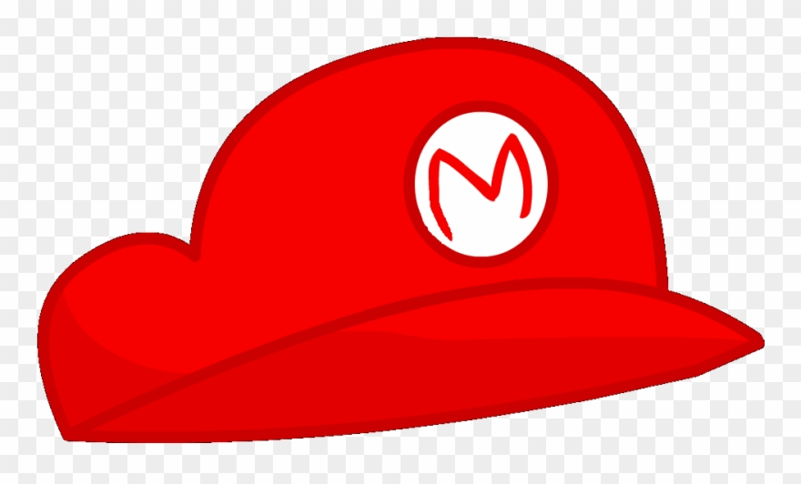 Transparent Mario Hat.