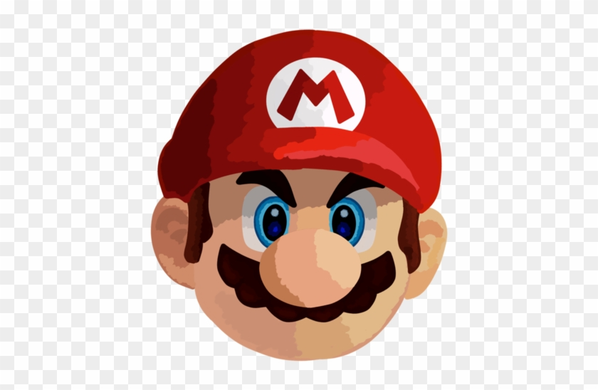 Mario Head Png, Transparent Png.