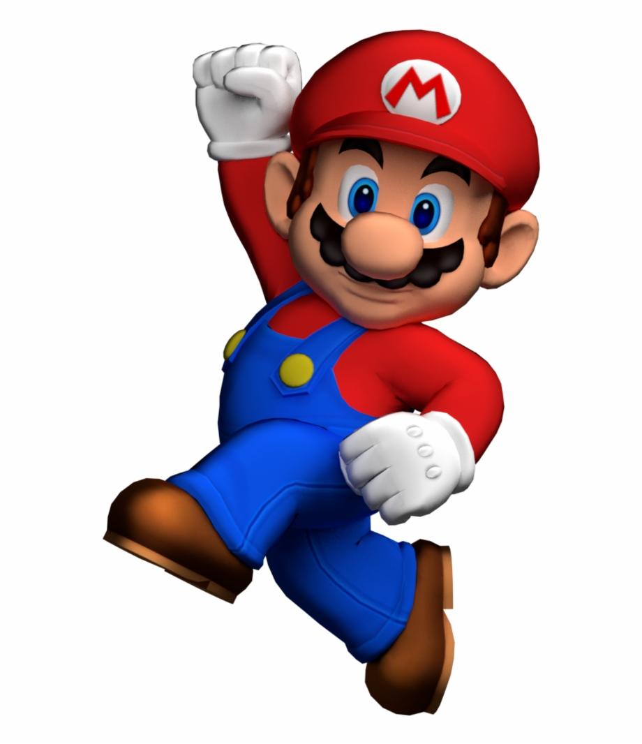 Mario Jumping Png.