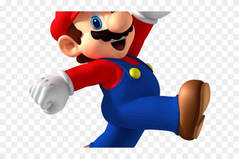 Mario Bros Clipart Super Jump.