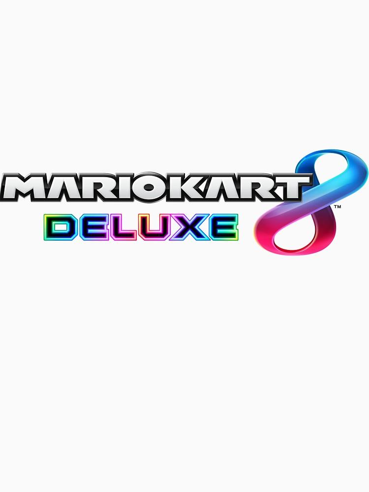 Mario Kart 8 Deluxe Logo Png (+).