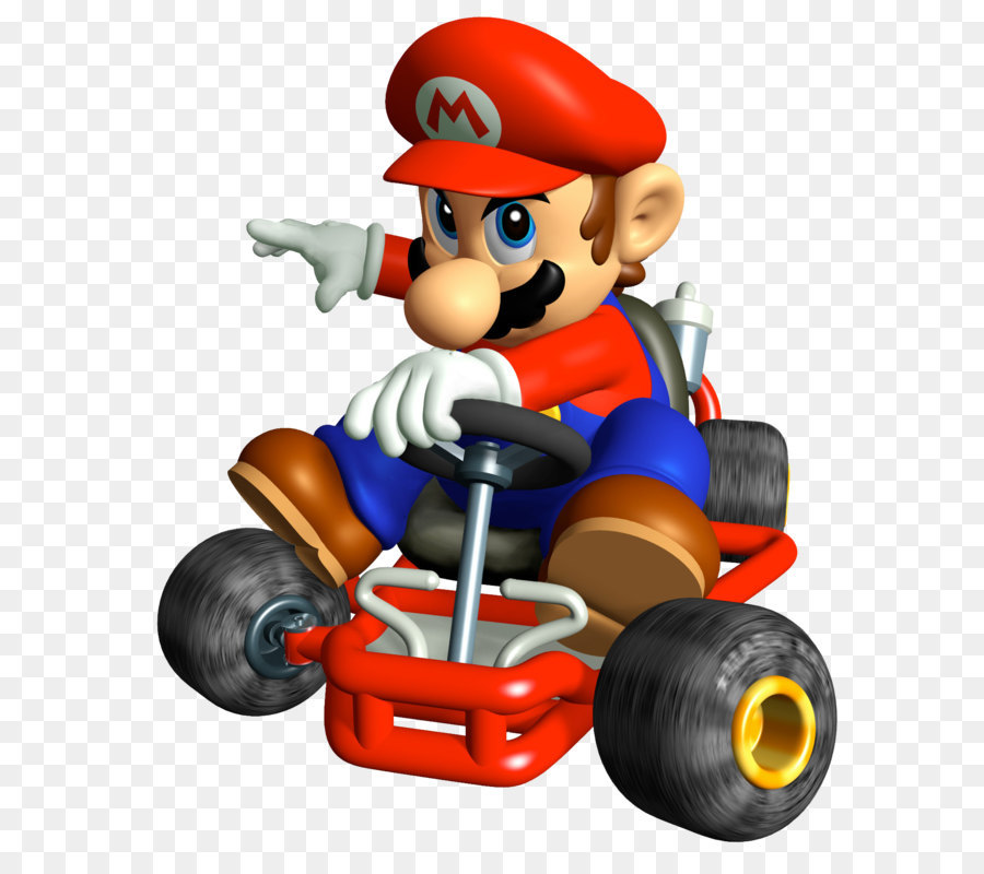 Mario Kart Super Circuit Toy png download.