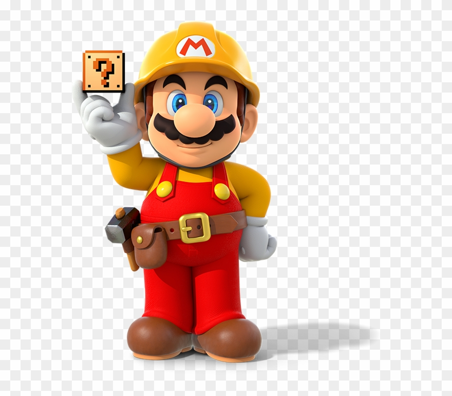 Super Mario Maker Logo Png.