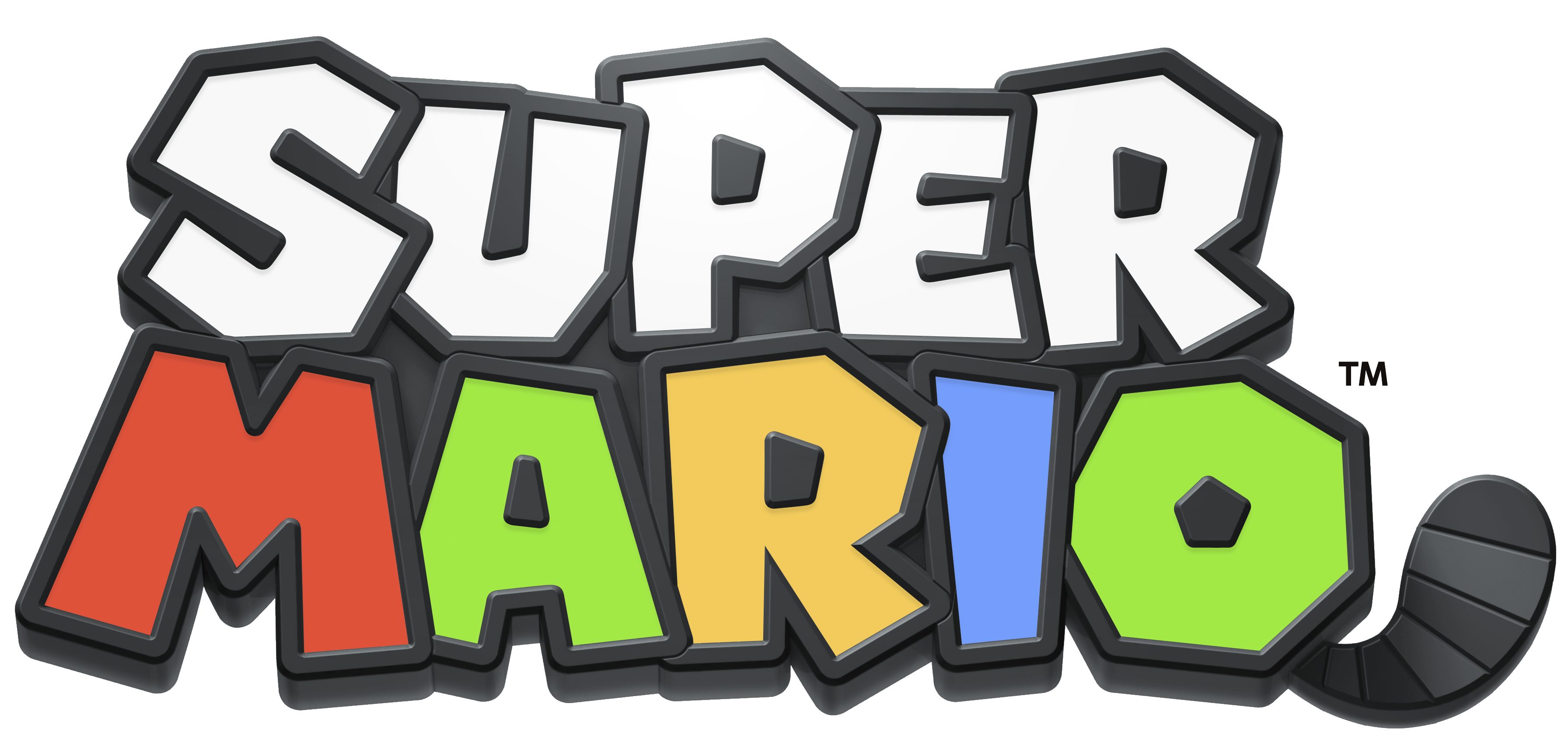 Super Mario Logo Transparent PNG.