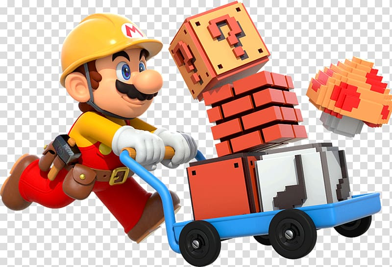 Super Mario Maker Super Mario Bros. 3, builder transparent.