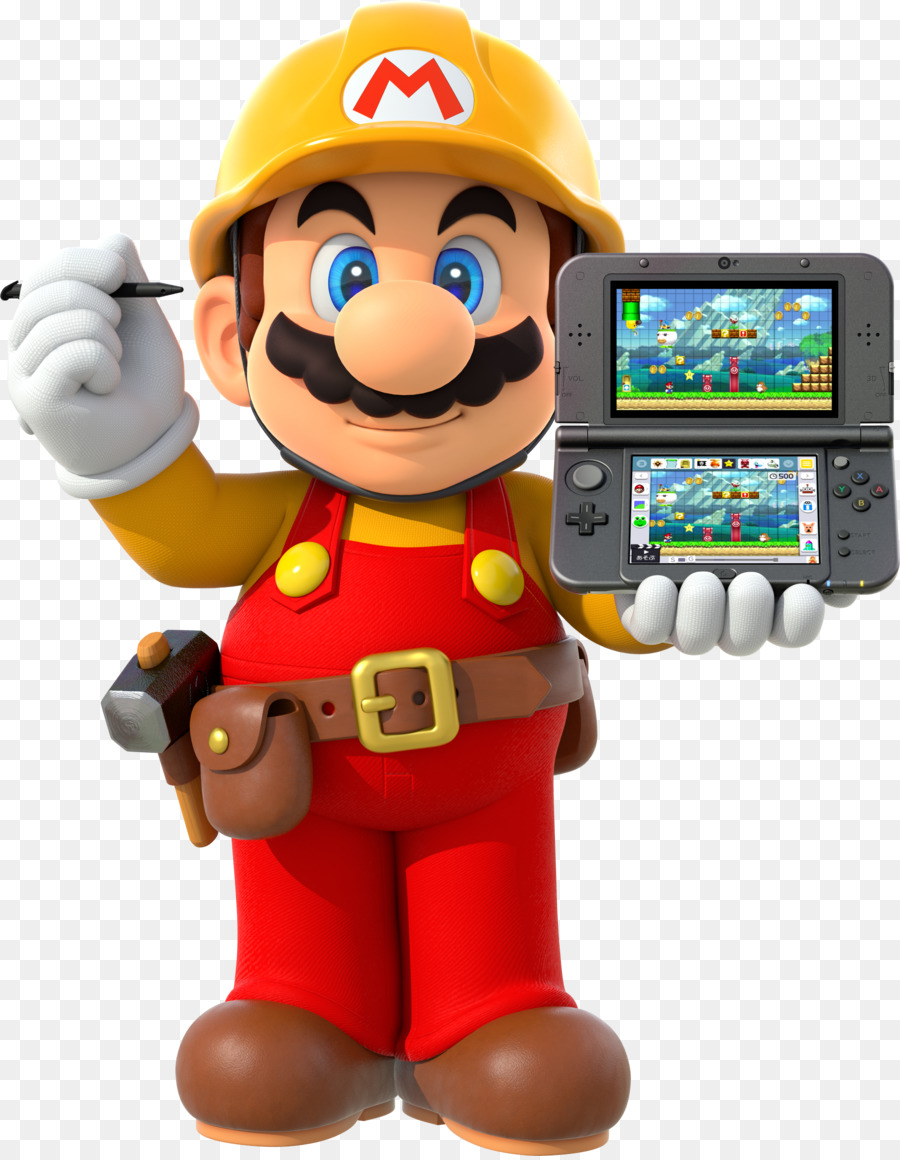 Super Mario Maker Toy png download.