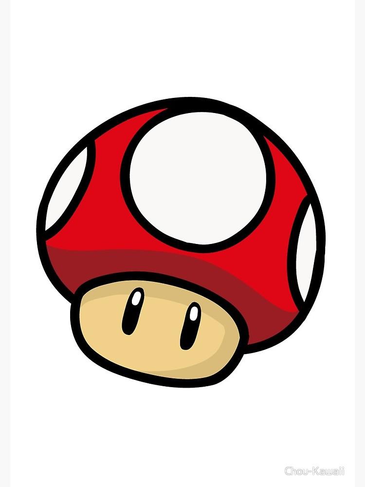 Super Mario Mushroom.