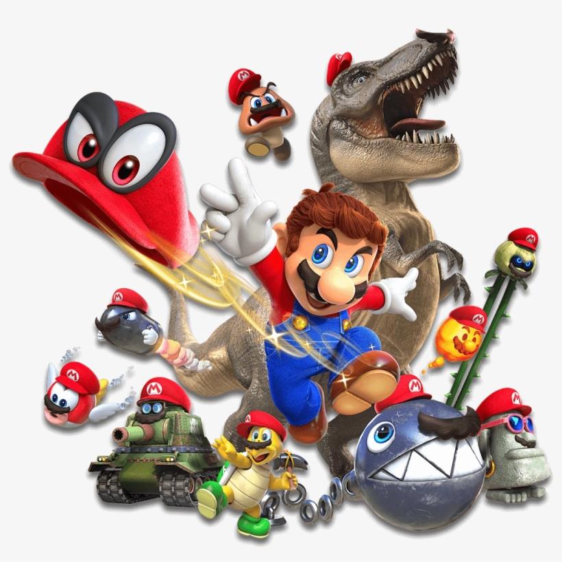 Super Mario Odyssey Hats.